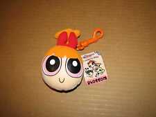 Powerpuff Girls Blossom Plush Head Keychain Backpack Clip Coin Purse Book NWT