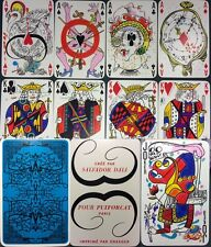 1st Ed. 1967 Salvador Dali Draeger Surrealist 54/55 +Box Partial Playing Cards