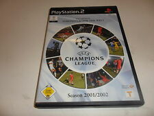 PlayStation 2  PS 2  Champions League 2001/02