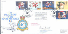 1997 Christmas RAF FDC signed CO 72 Puma Sqn LLOYD