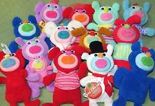 Lot of 13 SING A MA JIGS Fisher Price Singing Plush Dolls Mama Baby Snowman Toys