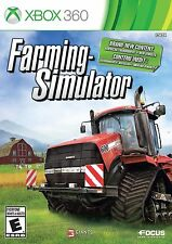 Farming Simulator (Microsoft Xbox 360 Game, 2013) Complete Very Fun