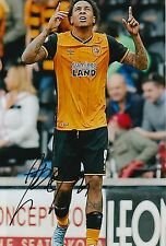 HULL CITY HAND SIGNED ABEL HERNANDEZ 12X8 PHOTO 1.