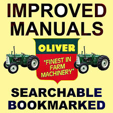 Oliver 550 Tractors SERVICE Manual, SHOP, PARTS -6- Manuals BEST =SEARCHABLE DVD
