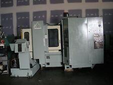 """Makino A55 Delta CNC Mill 15 ¾"""" Pallets, 40 Tools, Fanuc 16M Control, 1993 Video"""