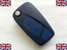 FIAT PANDA IDEA PUNTO STILO DUCATO 3 Button Remote Flip Key Fob Case shell blade