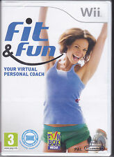 Nintendo Wii **FIT & FUN • AEROBIC FITNESS** nuovo italiano Pal