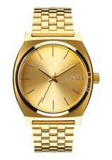 New Nixon Time Teller Watch All Gold/Gold