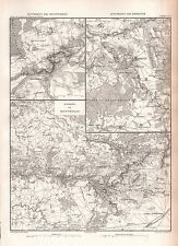 1859 DUVOTENAY MAP-FRANCE ENVIRONS OF LAON, SOISSONS, REIMS,