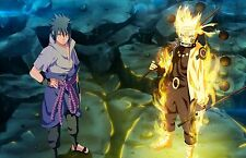Naruto & Sasuke Full Power - Huge Poster  30 inch x 20 inch - ( Fast Shipping )