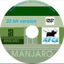 Manjaro 0.8.11 Xfce Linux Sistema operativo DVD - 32 bit-licenza libera