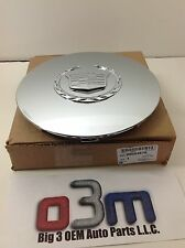 2003-2006 Cadillac Escalade, ESV, EXT Chrome CENTER CAP W/ Wreath new OEM