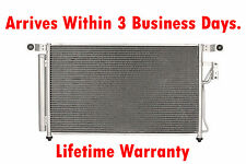 New Condenser For Hyundai Santa Fe 2007 2008 2009 2.7 3.3 V6 Lifetime Warranty