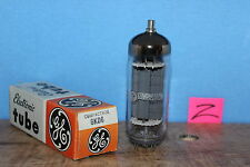 Radio Tubes 6KD6 GE Compactron Top Getter NOS