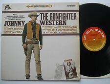 LP JOHNNY WESTERN-THE pistolero-VG + +. Bear FAMILY-Sons of the Pioneers