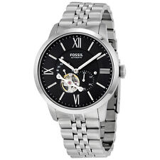 Fossil Townsman Black Dial Automatic Mens Watch ME3107