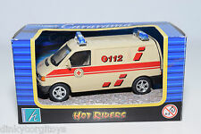 HONGWELL VW VOLKSWAGEN TRANSPORTER T3 AMBULANCE MINT BOXED