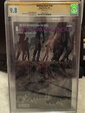 walking dead 130 cgc 9.8  first whisperers signed aldard