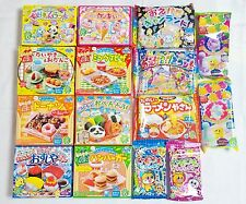 15 PCS Kracie DIY making kit Happy Kitchen popin cookin Japanese candy Ramen