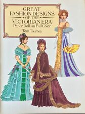 Great Fashions of the Victorian Era Paper Doll Book,1987,16 Pages, Uncut,Tierney