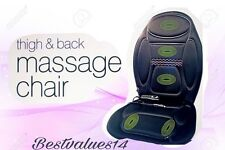 BODY BACK THIGH MASSAGER SEAT WARMER CHAIR CAR HOME OFFICE CHRISTMAS GIFT NEW