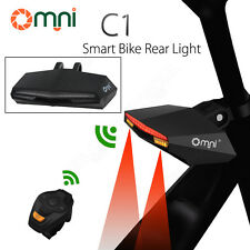 Smart Bicycle Lamp Wireless Remote Tail light Waterproof For Bike Outdoor Sport
