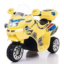 Lil' Rider FX 3 Wheel Battery Powered Bike - Yellow - Up to 1.75mph