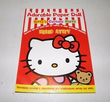"Hello Kittty Paper Doll Punch-Out Book ""Kitty's Costume Party"