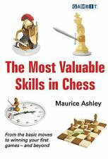 THE MOST VALUABLE SKILLS IN CHESS. By Ashley NEW BOOK