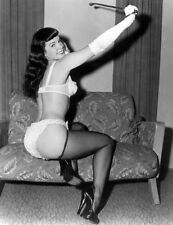 BETTIE PAGE RARE 8x10 PHOTO
