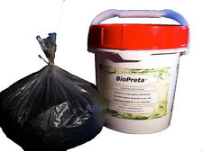 BioPreta   VermiCompost and Biochar in a pot for organic liquid plant food,