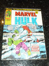 Mighty World of MARVEL Starring the INCREDIBLE HULK - No 166 - Date 06/12/1975