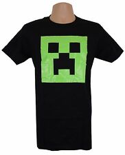 Official Minecraft (Game) T-shirt | Boys & Girls 13-14 | Glow Creeper