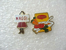 2 PIN'S MAGGI / PIN PINS / ALIMENTATION U9