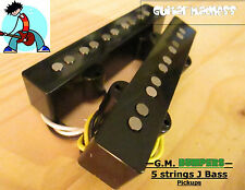G.M. Bumpers! 5 String J-Bass Alnico 5 Pickups