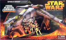 Star Wars Revenge of The Sith Republic Gunship Hasbro 2005 New Sealed HTF