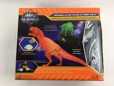 Mad Science DINOSAUR CURATOR SET Build Your Own Dinosaur and Fossils