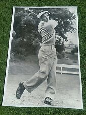 MUST SEE! #1 MASTERS GOLF LEGEND ARNOLD PALMER SIGNED 24x36 CANVAS PHOTO JSA COA