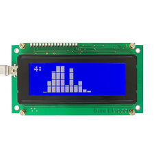 20X4 LCD Smartie Kit Explorer White on Blue