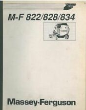 MASSEY FERGUSON 822 828 834 ROUND BALER OPERATORS MANUAL