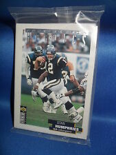 1995 COLLECTORS CHOICE FOOTBALL - POSTSEASON HEROICS / SILVER SET (20) NFL CARDS