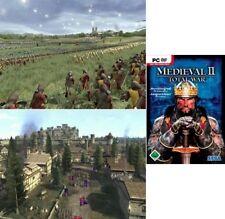 Medieval TOTAL WAR 2 successore V. Shogun Rome usato ottime condizioni