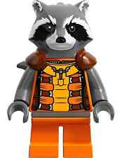 LEGO SUPER HEROES GUARDIANS THE GALAXY MINIFIGURE ROCKET RACCOON 76020 AUTHENTIC