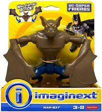 Imaginext Batman Hombre-Bat, Dc Super Amigos Raro