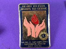 pins pin's  lions club 1989
