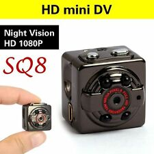 SQ8 Mini Full HD DV Sports Hidden Spy IR Night Vision DVR Video Camera Camcorder