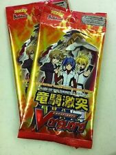 2X Cardfight Vanguard Clash of the Knights & Dragons Booster Pack ENG 5cd/pk