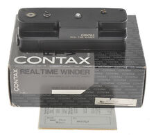 Contax Real Time Winder, trascinatore per Contax RTS, not tested sold as is