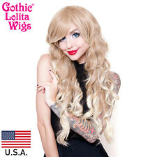 Gothic Lolita Wigs® Classic Wavy Lolita Collection™ - Blonde Fade