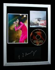 PJ HARVEY+SIGNED+FRAMED+TO BRING YOU MY LOVE+WATER=100% GENUINE+FAST GLOBAL SHIP